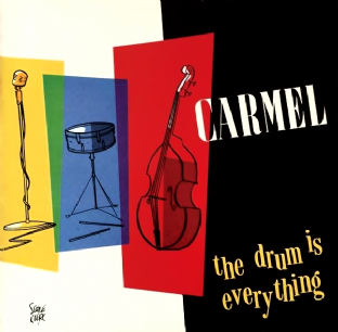 Carmel ‎- The Drum Is Everything (LP) (VG+/G+)